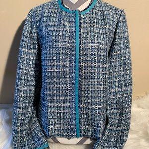 """Nine West Size 16 Tweed Blazer Length 22"""""""